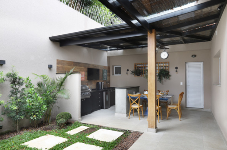 INSIDE ARQUITETURA E DESIGN Cocinas de estilo minimalista