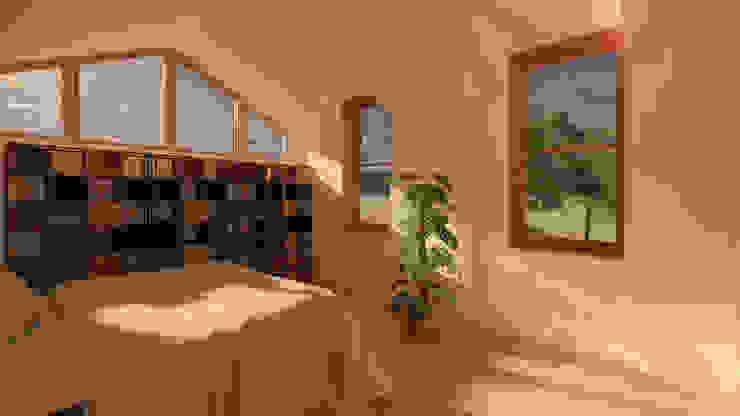 Bedroom by Samuel Kendall Associates Limited Сучасний Дерево Дерев'яні