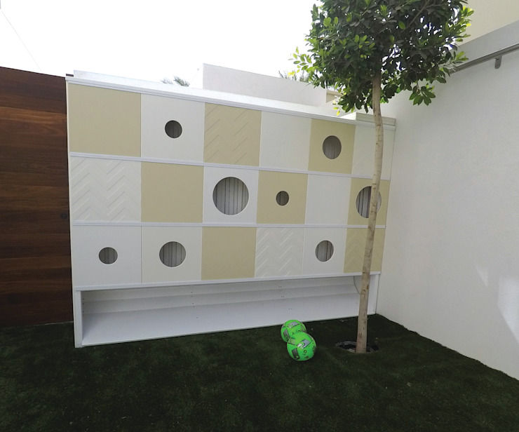 Contemporary Outdoor Playground Adaptiv DC Modern nursery/kids room Metal White