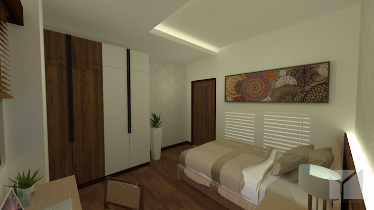A Modern Filipino Home Modern style bedroom by Hayen Interiors Modern