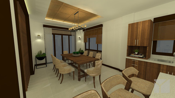 A Modern Filipino Home Modern dining room by Hayen Interiors Modern