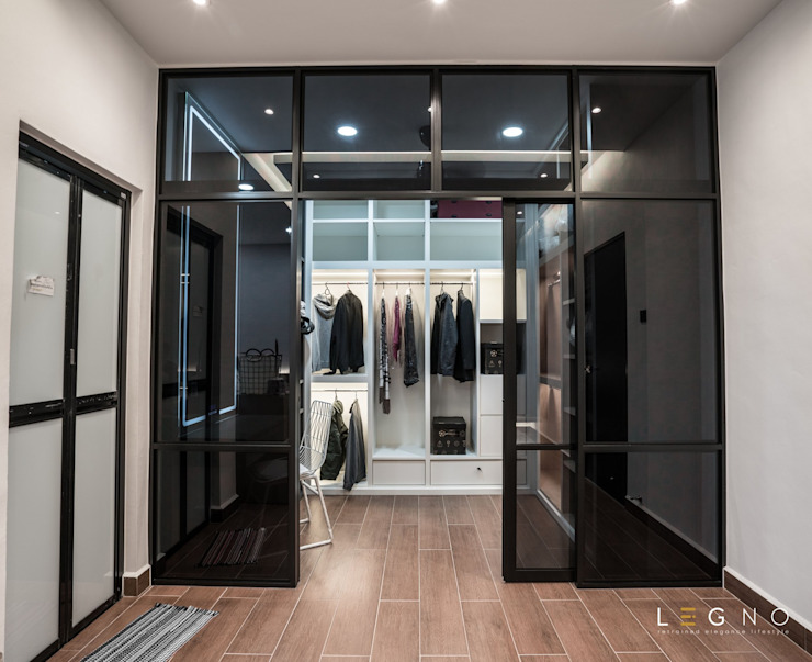 Residential Element Garden Legno ID & Construction Modern style bedroom