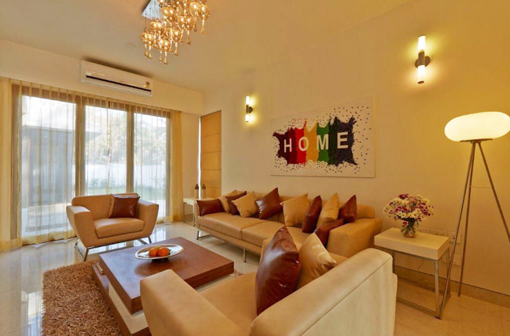 Living area DRAFT DECOR Modern Living Room