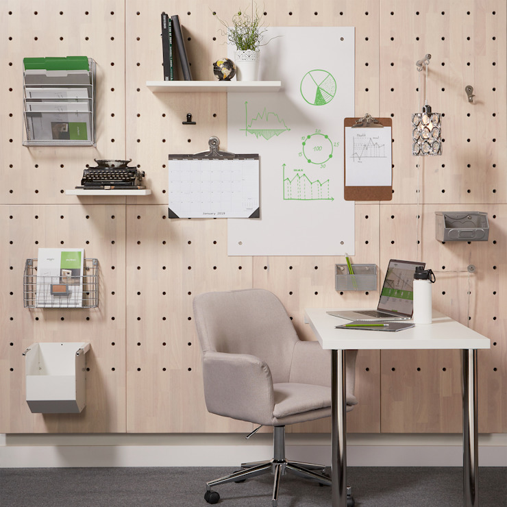Home Office Adaptiv DC Office spaces & stores Wood White