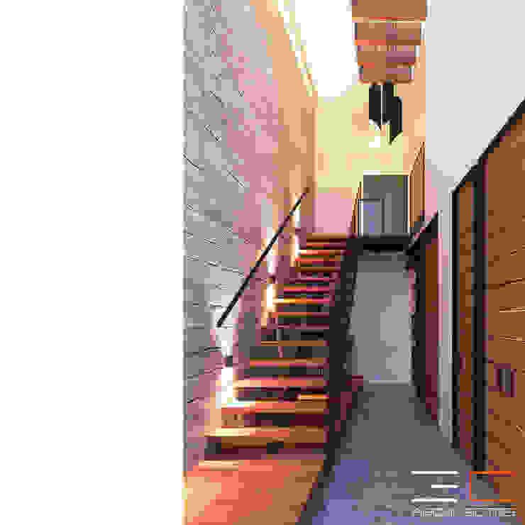 Residencia LD [León, Gto.] de 3C Arquitectos S.A. de C.V. Moderno Concreto reforzado