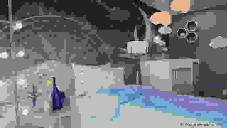 Studio MP Interiores Baby room Blue