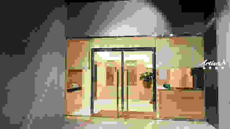 |入住五星級飯店的家|精品公設案 根據 芸匠室內裝修設計有限公司 古典風 花崗岩
