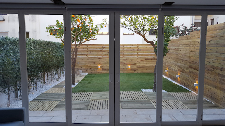 Jardines de estilo mediterráneo de ABITAH |Garden and Interior Design Mediterráneo