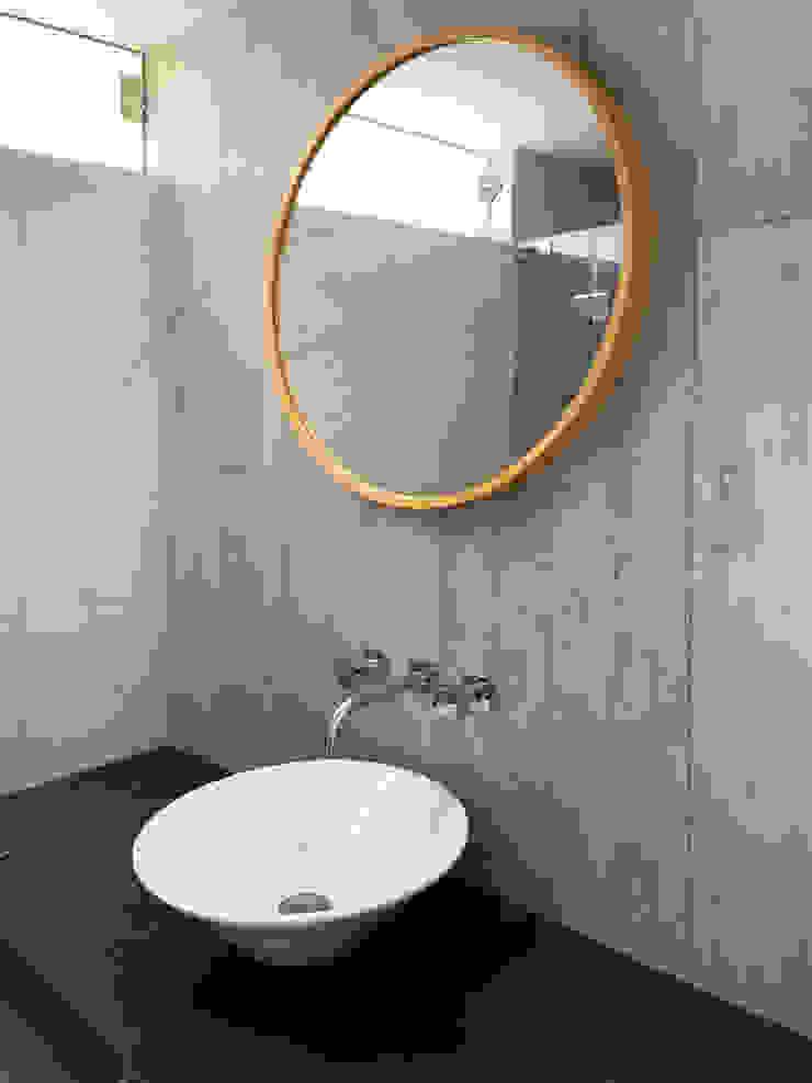 Baños CA Baños de estilo minimalista de Nicolas Elias Arquitectura Minimalista