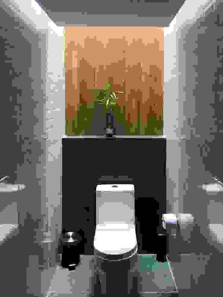 Baño EB Baños de estilo minimalista de Nicolas Elias Arquitectura Minimalista
