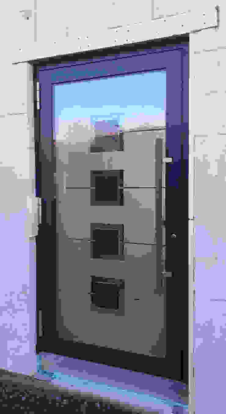 1001-Tuer.de Glass doors Grey