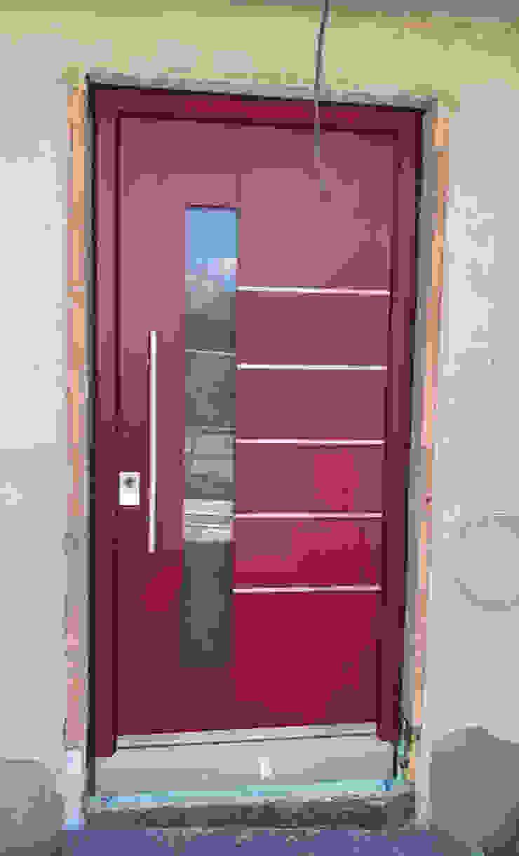 1001-Tuer.de Front doors Red