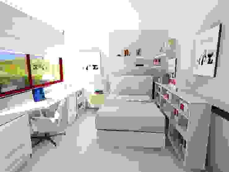 Ismael Blázquez | MTDI ARQUITECTURA E INTERIORISMO Eclectic style bedroom Wood White