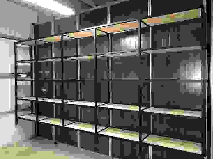 【免設計費】屬於你的收納/置物系統櫃: 產業  by Libre Furniture, 工業風