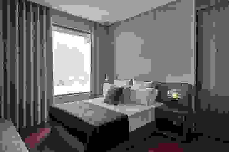 悅河 大器聯合室內裝修設計有限公司 臥室