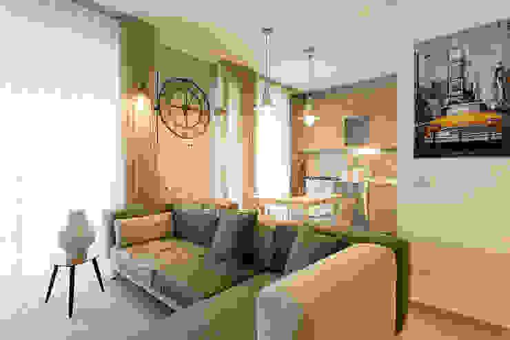Dettaglio divano Essestudioarch Soggiorno moderno