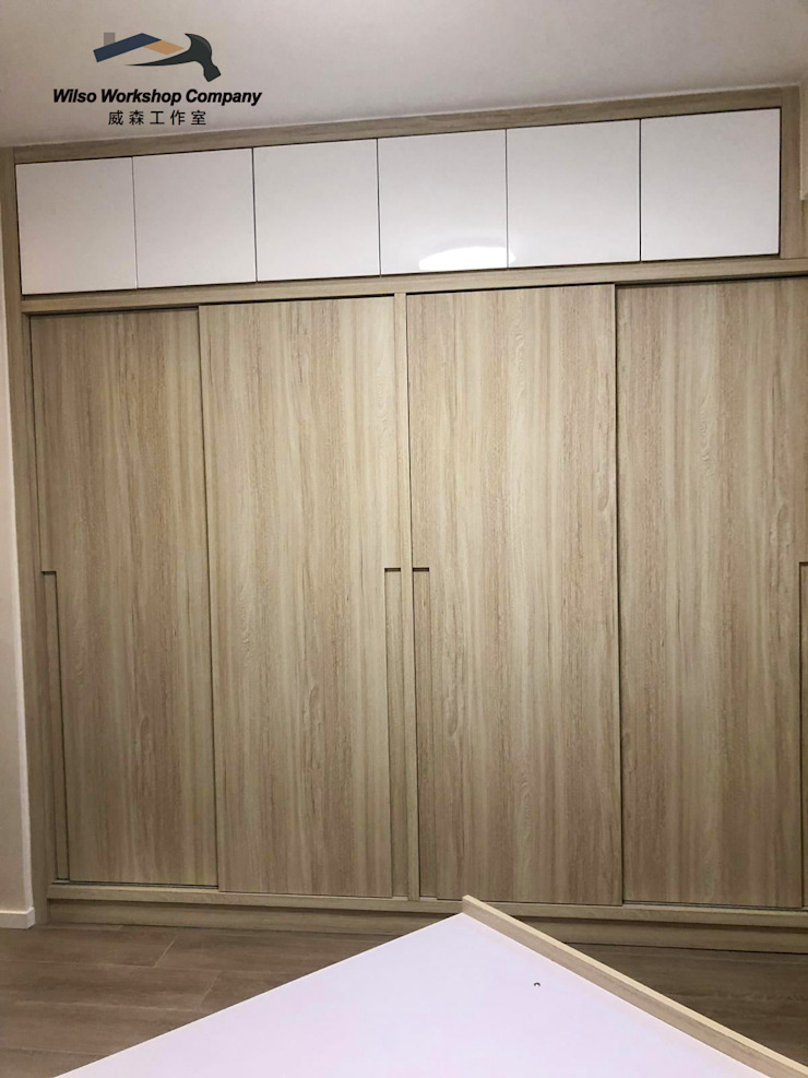 Wilso—Residence Wilso Workshop Company Classic style bedroom