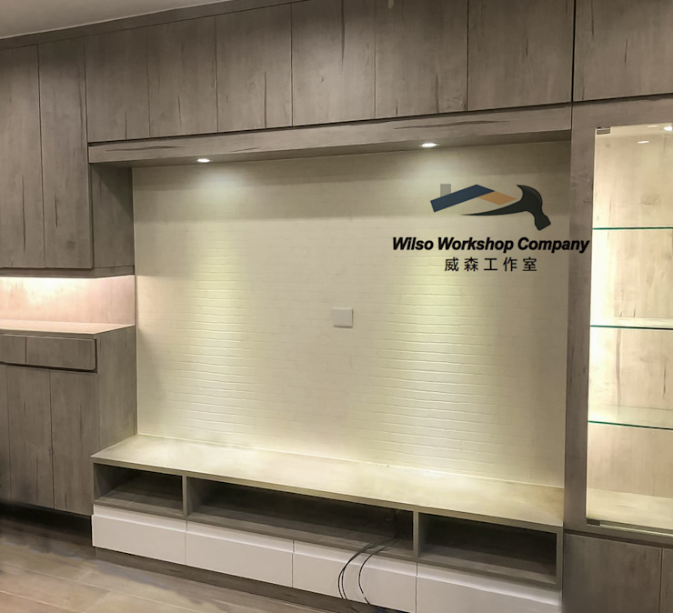 Wilso—Residence Wilso Workshop Company Classic style living room