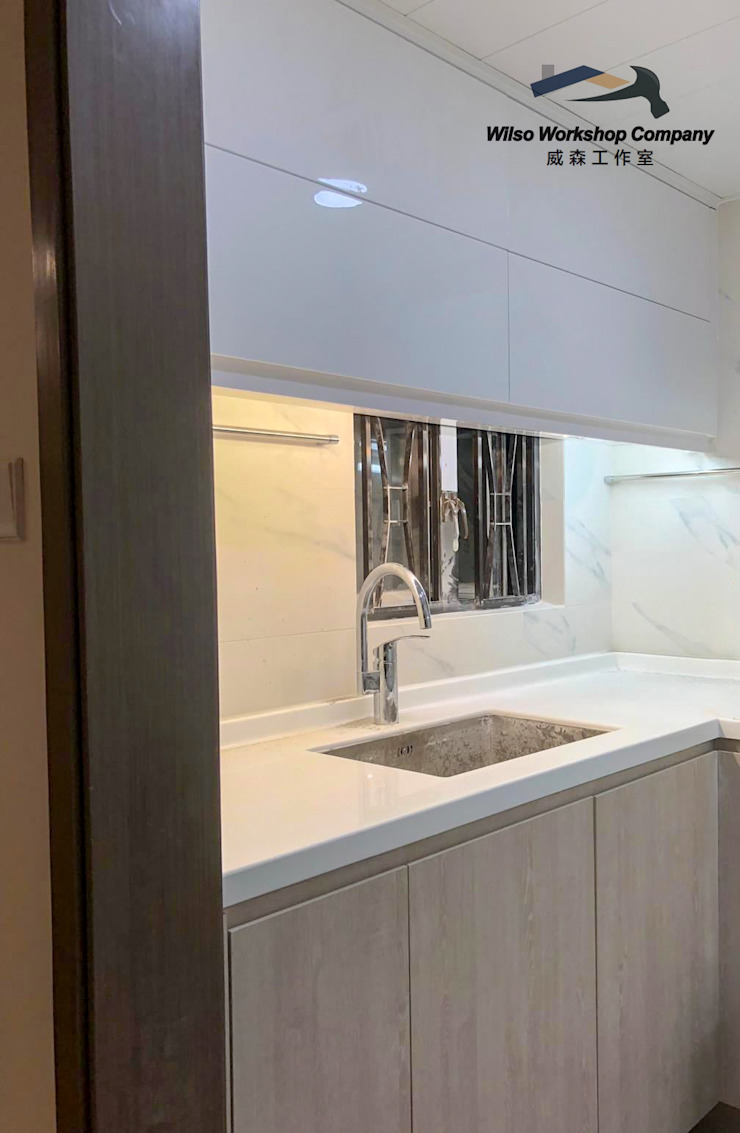 Wilso—Residence Wilso Workshop Company Classic style bathroom