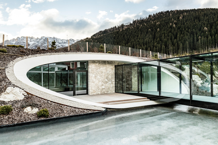 Arbloc Hotel Modern Beton Bertulang White