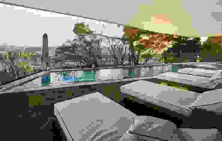 Piscina exterior isabel Sá Nogueira Design Hotéis modernos