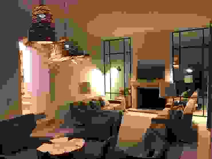 isabel Sá Nogueira Design Salas de estilo ecléctico