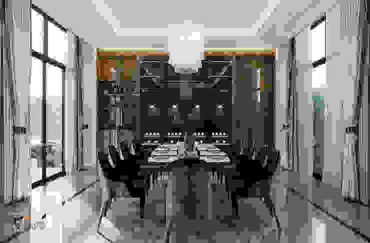 THIẾT KẾ BIỆT THỰ CAO CẤP – BIỆT THỰ PHỐ THẢO ĐIỀN, QUẬN 2, HCMC Phòng ăn phong cách kinh điển bởi Neo Classic Interior Design Kinh điển