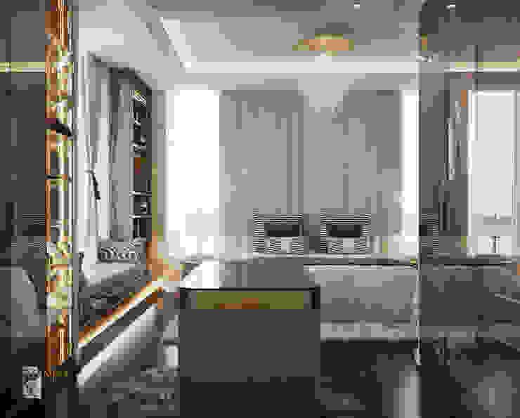 THIẾT KẾ BIỆT THỰ CAO CẤP – BIỆT THỰ PHỐ THẢO ĐIỀN, QUẬN 2, HCMC Phòng ngủ phong cách kinh điển bởi Neo Classic Interior Design Kinh điển