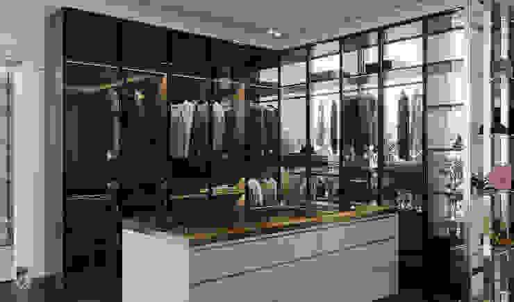 THIẾT KẾ BIỆT THỰ CAO CẤP – BIỆT THỰ PHỐ THẢO ĐIỀN, QUẬN 2, HCMC Phòng thay đồ phong cách kinh điển bởi Neo Classic Interior Design Kinh điển