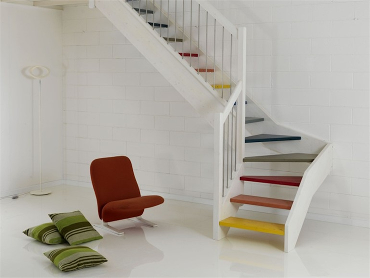 lake ahşap merdiven,lake ahşap basamak MERDİVENCİ Modern Ahşap Ahşap rengi