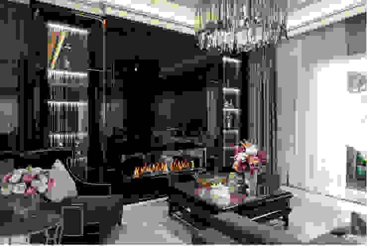 BIỆT THỰ PARK RIVERSIDE – QUẬN 9 – THÀNH PHỐ HỒ CHÍ MINH Phòng khách phong cách kinh điển bởi Neo Classic Interior Design Kinh điển