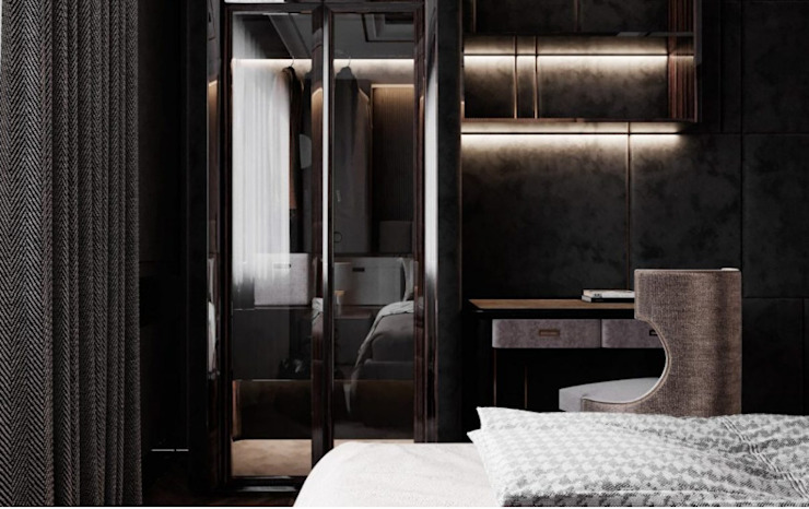 BIỆT THỰ PARK RIVERSIDE – QUẬN 9 – THÀNH PHỐ HỒ CHÍ MINH Phòng ngủ phong cách kinh điển bởi Neo Classic Interior Design Kinh điển