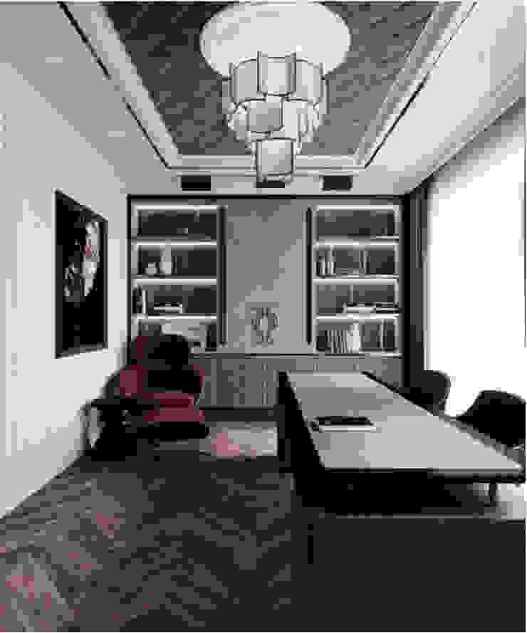 BIỆT THỰ PARK RIVERSIDE – QUẬN 9 – THÀNH PHỐ HỒ CHÍ MINH Phòng giải trí phong cách kinh điển bởi Neo Classic Interior Design Kinh điển
