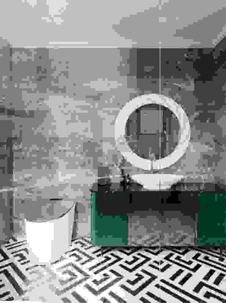 BIỆT THỰ PARK RIVERSIDE – QUẬN 9 – THÀNH PHỐ HỒ CHÍ MINH Phòng thay đồ phong cách kinh điển bởi Neo Classic Interior Design Kinh điển