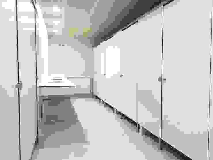 TABIQUES Y TECNOLOGIA MODULAR S.L BathroomToilets OSB White