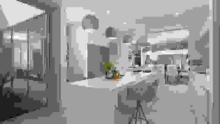 Casa Pedraza Cocinas modernas de NG Arquitectos Moderno