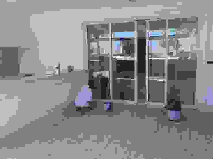DS SERVIÇOS DE LIMEZA Espaces de bureaux coloniaux Verre Blanc