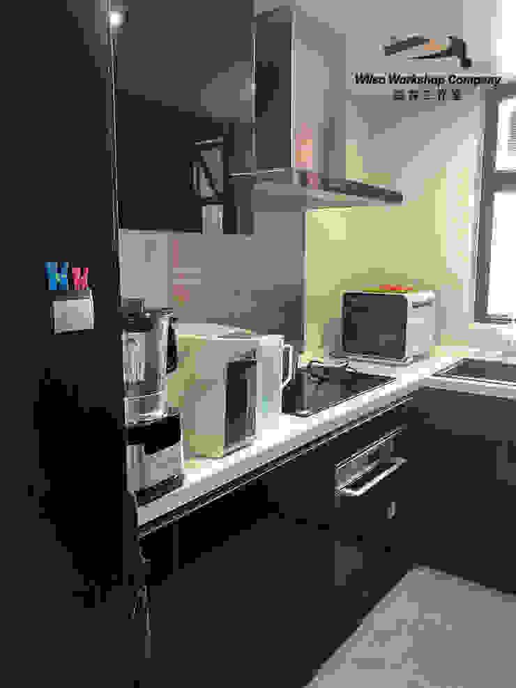 Wilso—Residence Modern kitchen by Wilso Workshop Company Modern