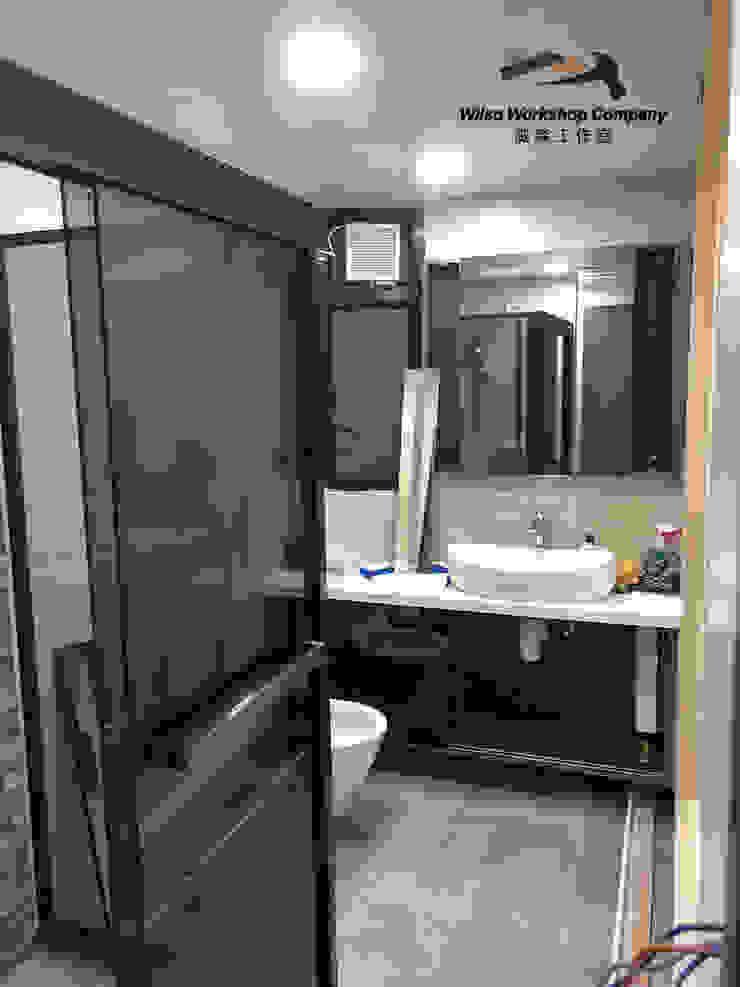 Wilso—Residence Modern bathroom by Wilso Workshop Company Modern