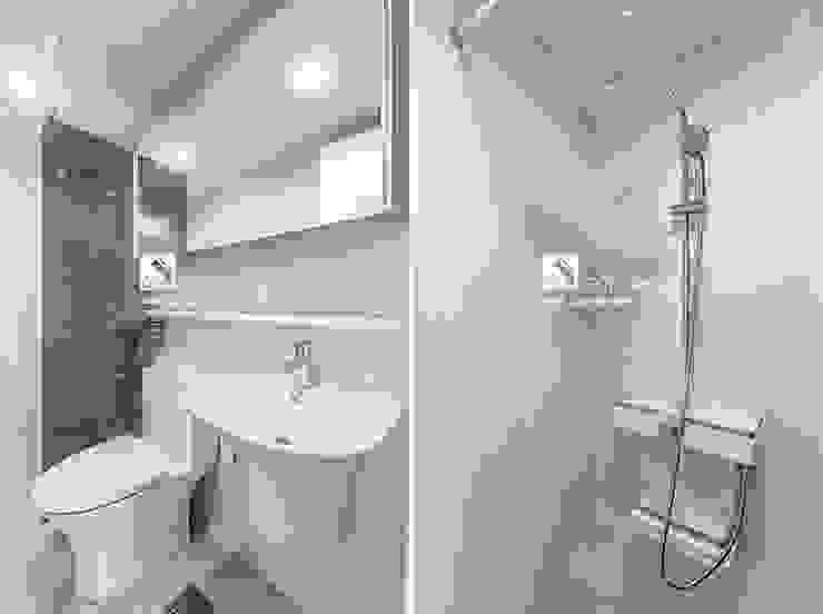 욕실 곤디자인 (GON Design) 모던스타일 욕실 화이트