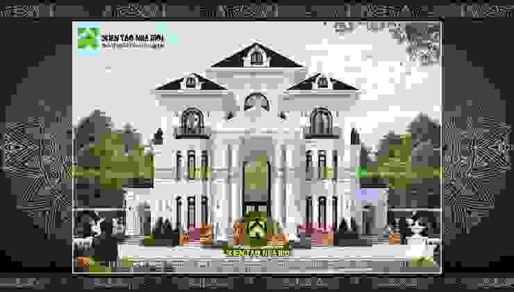 Thiết kế dinh thự đẹp bởi CÔNG TY CP THIẾT KẾ KIẾN TẠO NHÀ MỚI