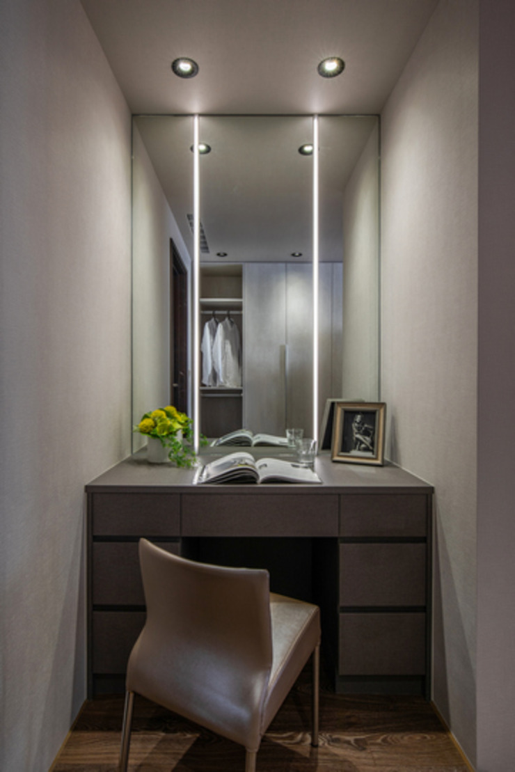 Eternal Moon – Residential Interior Design 勻境設計 Unispace Designs 更衣室