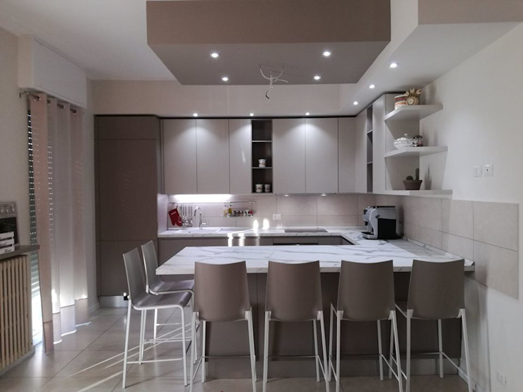 TREZZI INTERNI SNC DI TREZZI FAUSTO, FRANCESCO E DARIO Built-in kitchens