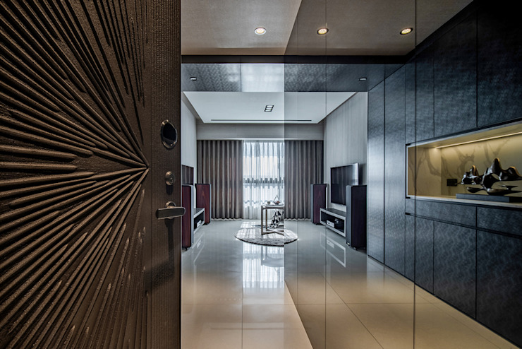 Completeness – Condominium interior design 勻境設計 Unispace Designs 現代廚房設計點子、靈感&圖片