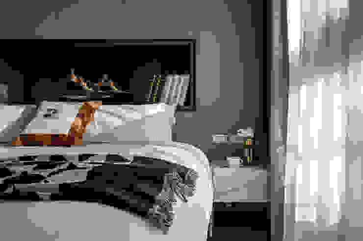 Completeness - Condominium interior design 勻境設計 Unispace Designs 臥室