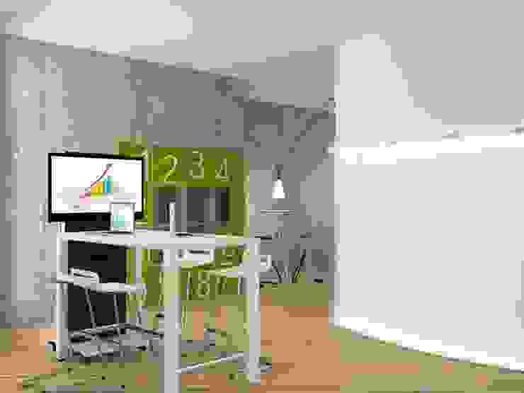 zona videoconferenza di ibedi laboratorio di architettura