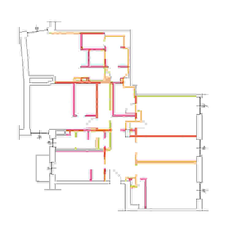 Demolizione / costruzione di Architrek Moderno