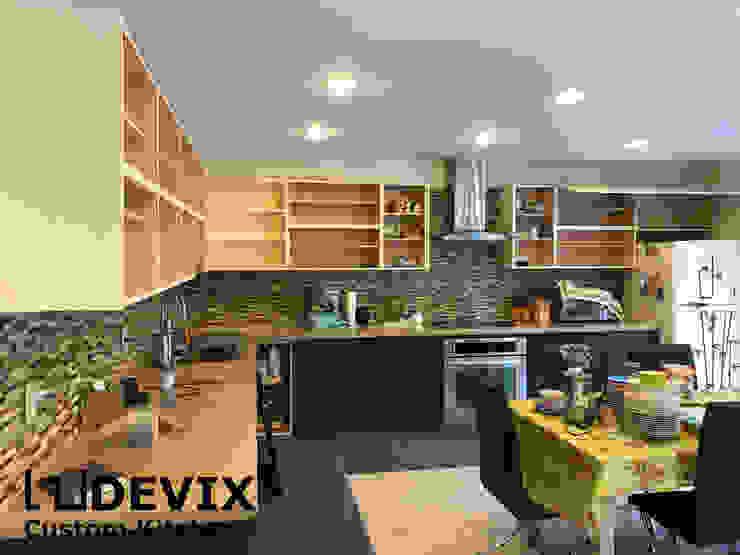 custom kitchen cabinets in Toronto: modern  by Devix kitchens,Modern