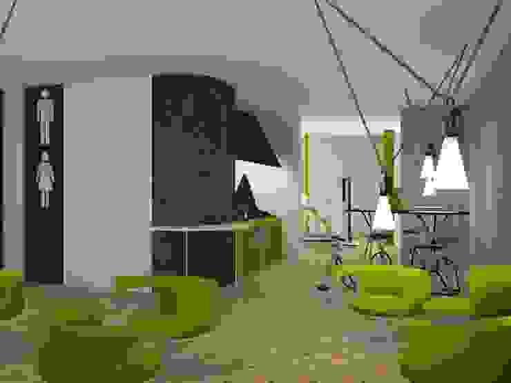 Zona meeting relax di ibedi laboratorio di architettura