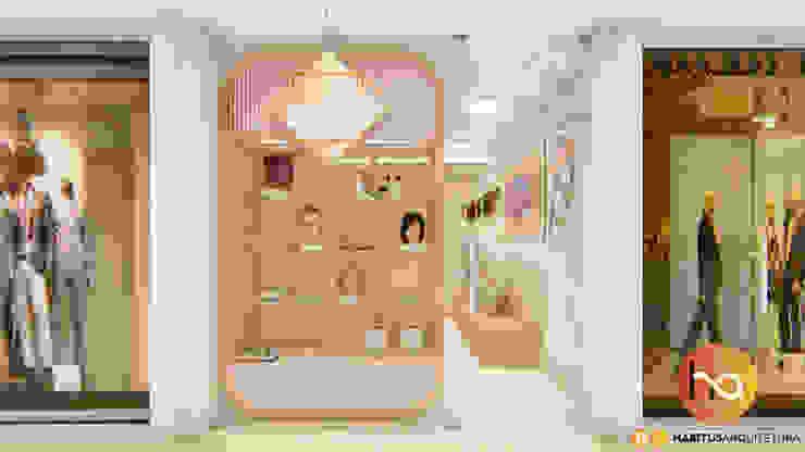 Habitus Arquitetura Commercial Spaces MDF Pink